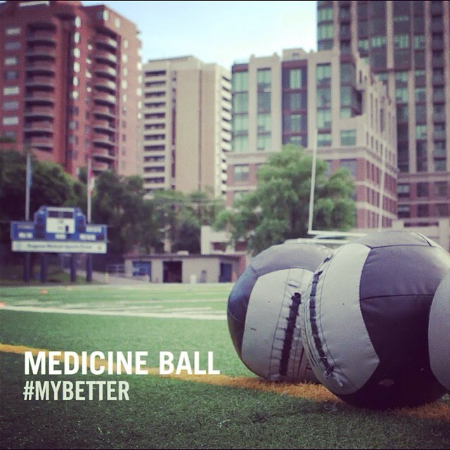 Check out HOW and WHY we use Medicine Balls http://youtu.be/p_2XL3PGpys #training #athletes #biosteel #coretraining#mattnichol